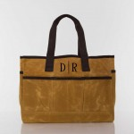 Waxed Canvas Utility Tote