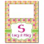 Candy Dot Tall Picture Frame