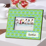 Blue Links Picture Frame