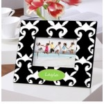 Dramatic Damask Picture Frame