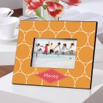 Orange Melon Picture Frame
