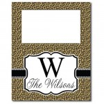 Leopard Tall Picture Frame