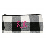 Buffalo Check Grab & Go Pouch