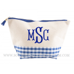 Gingham Boarding Now Cosmetic Bag
