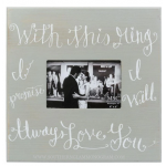 With This Ring Wedding Frame