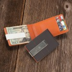 Metro Leather Money Clip