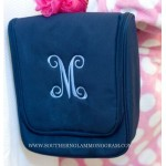 Hanging Cosmetic Bag- Navy