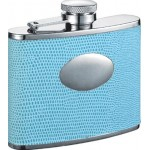 Stella Light Blue Hip Flask
