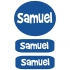 Clothing Labels - Blue