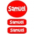 Clothing Labels - Red