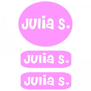 Clothing Labels - Light Pink