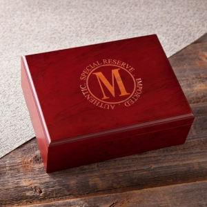 Personalized Laser Engraved Humidor