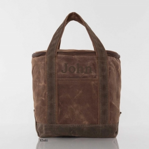 Waxed Canvas Lunch Tote Cooler